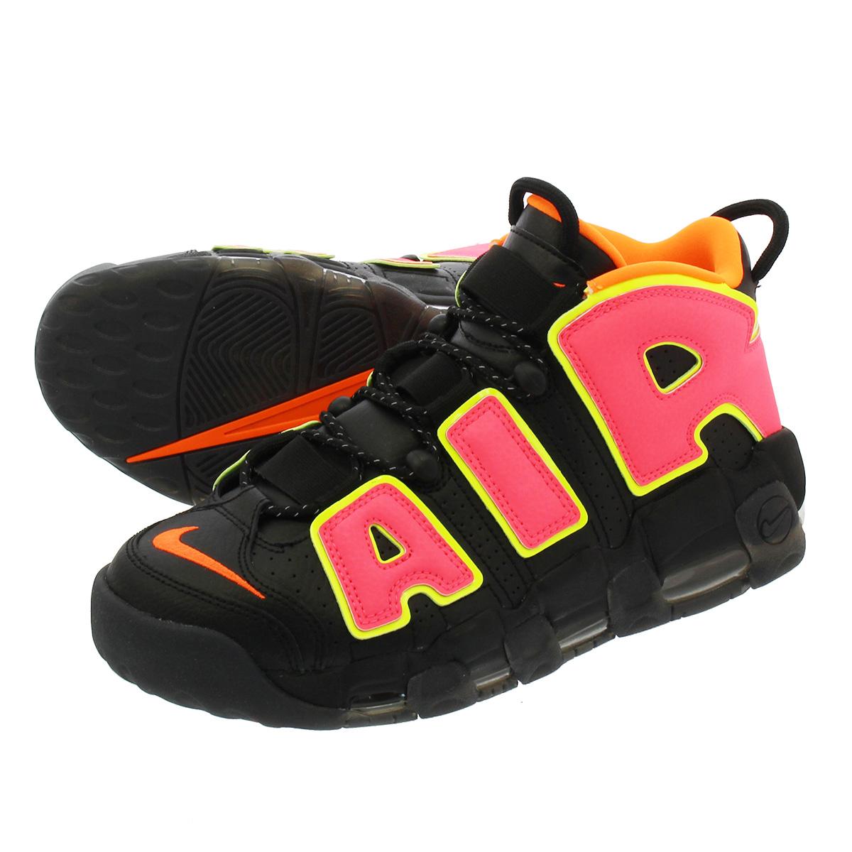 purchase cheap c2b35 c522e NIKE WMNS AIR MORE UPTEMPO Nike women air more up tempo BLACKHOT PUNCHVOLTTOTAL  ORANGE 917,593-002