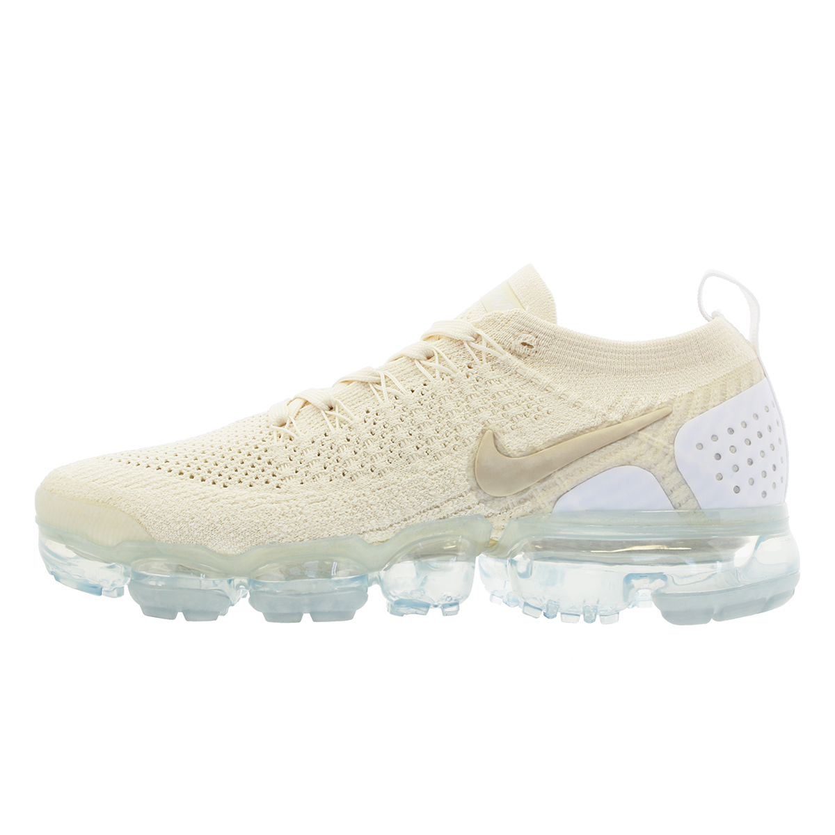 122b284878 ... NIKE WMNS AIR VAPORMAX FLYKNIT 2 Nike women vapor max fried food knit 2  LIGHT CREAM ...