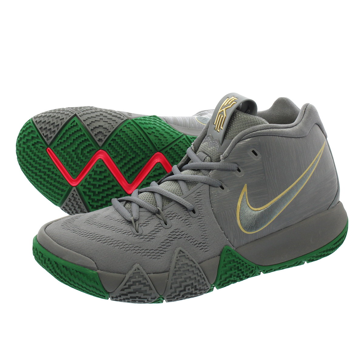 NIKE KYRIE 4 【CITY OF GUARDIANS】 ナイキ カイリー 4 SILVER/METALLIC GOLD/LIGHT GUM BROWN 943806-001