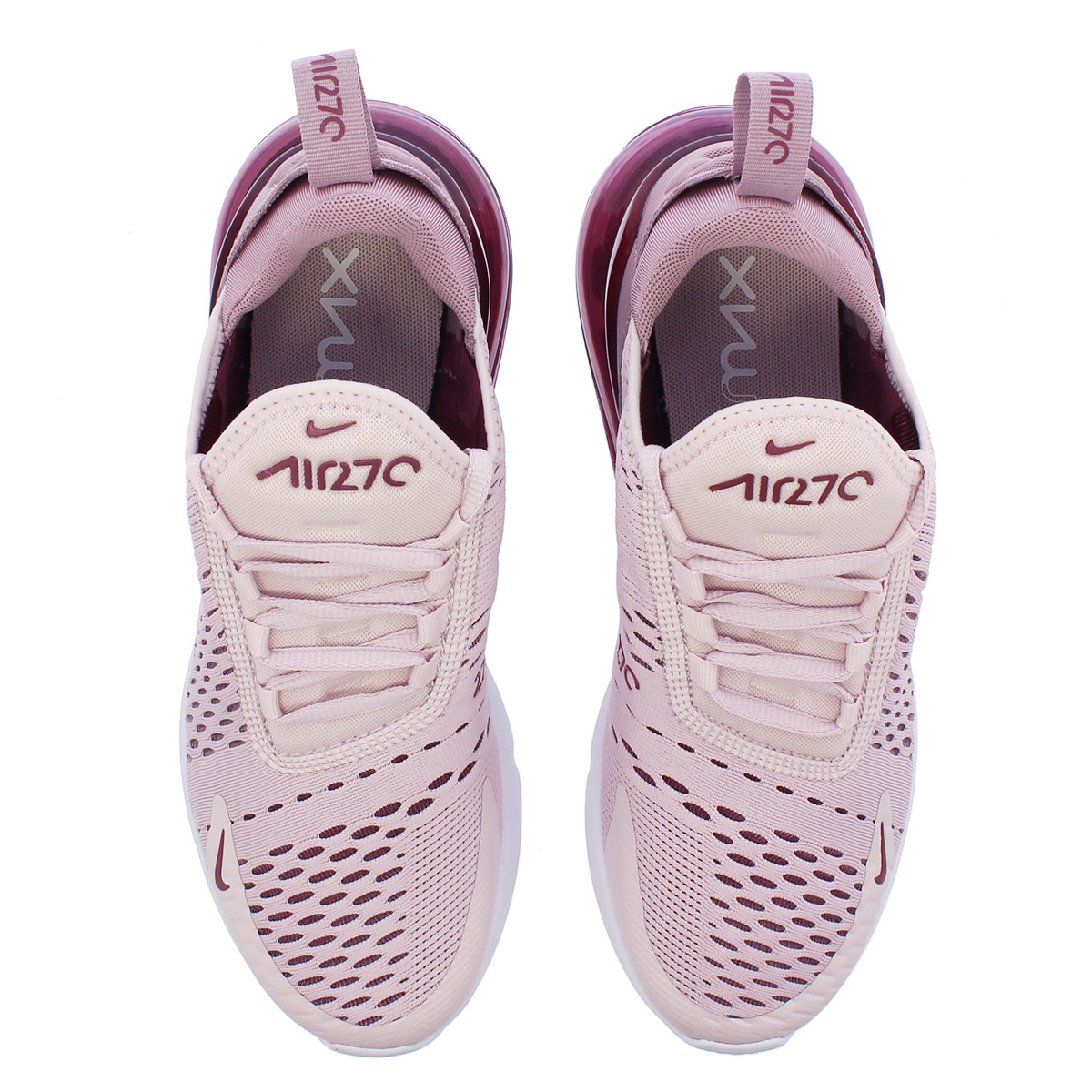 separation shoes 72f5c b41e3 NIKE WMNS AIR MAX 270 Nike women Air Max 270 BARELY ROSE/WHITE/VINTAGE WINE  ah6789-601-l