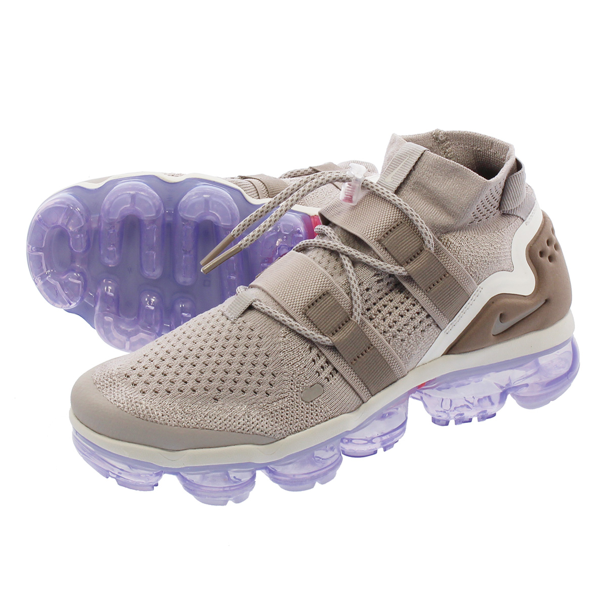 new style 84999 d478d LOWTEX PLUS: NIKE AIR VAPORMAX FLYKNIT UTILITY Nike vapor max fried food  knit utility MOON PARTICLE/PERSIAN VIOLET | Rakuten Global Market