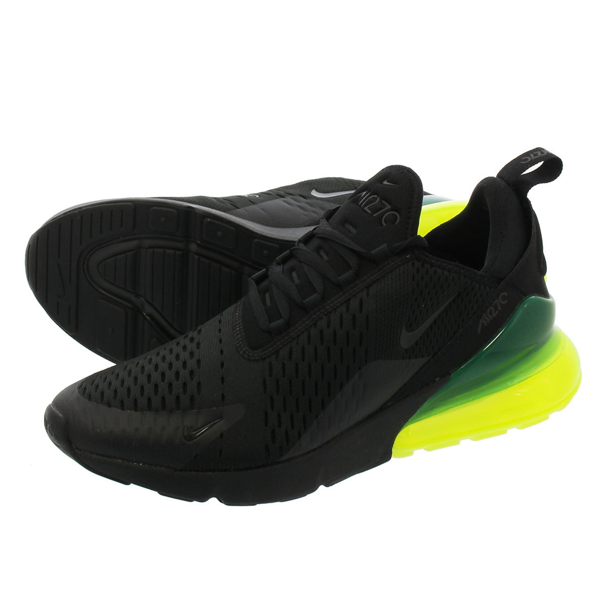 big sale f526f 4885a ... germany nike air max 270 kie ney amax 270 black neon green 85e7b 8e65e