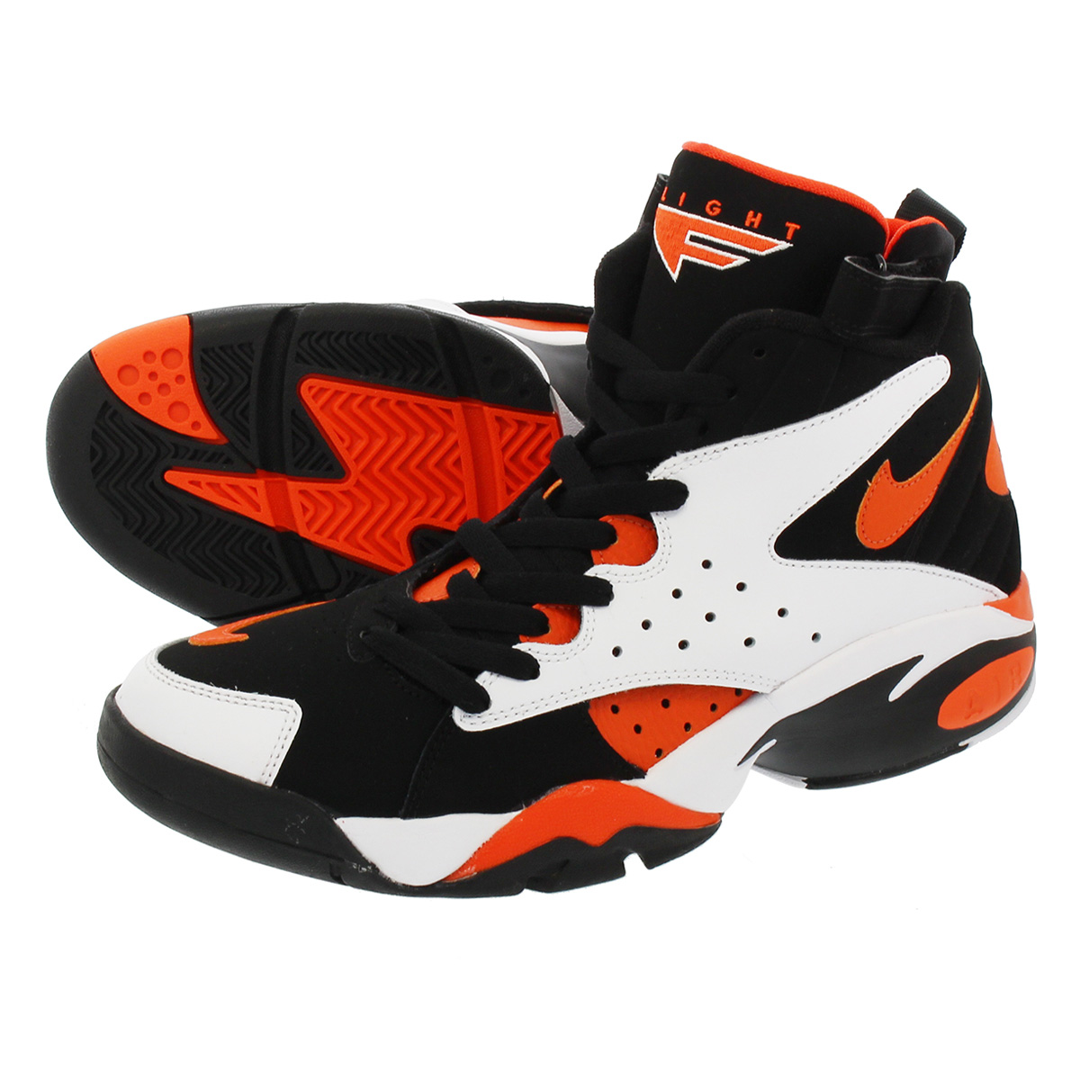 LOWTEX PLUS  NIKE AIR MAESTRO II LTD Nike air maestro 2 LTD WHITE RUSH  ORANGE BLACK  e367aaa0545e