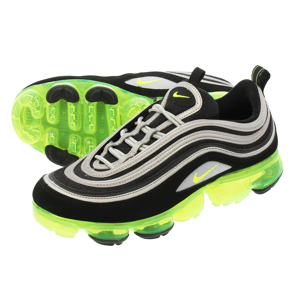 1e184628ae6 NIKE AIR VAPORMAX 97 Nike air vapor max 97 BLACK VOLT METALLIC SILVER WHITE
