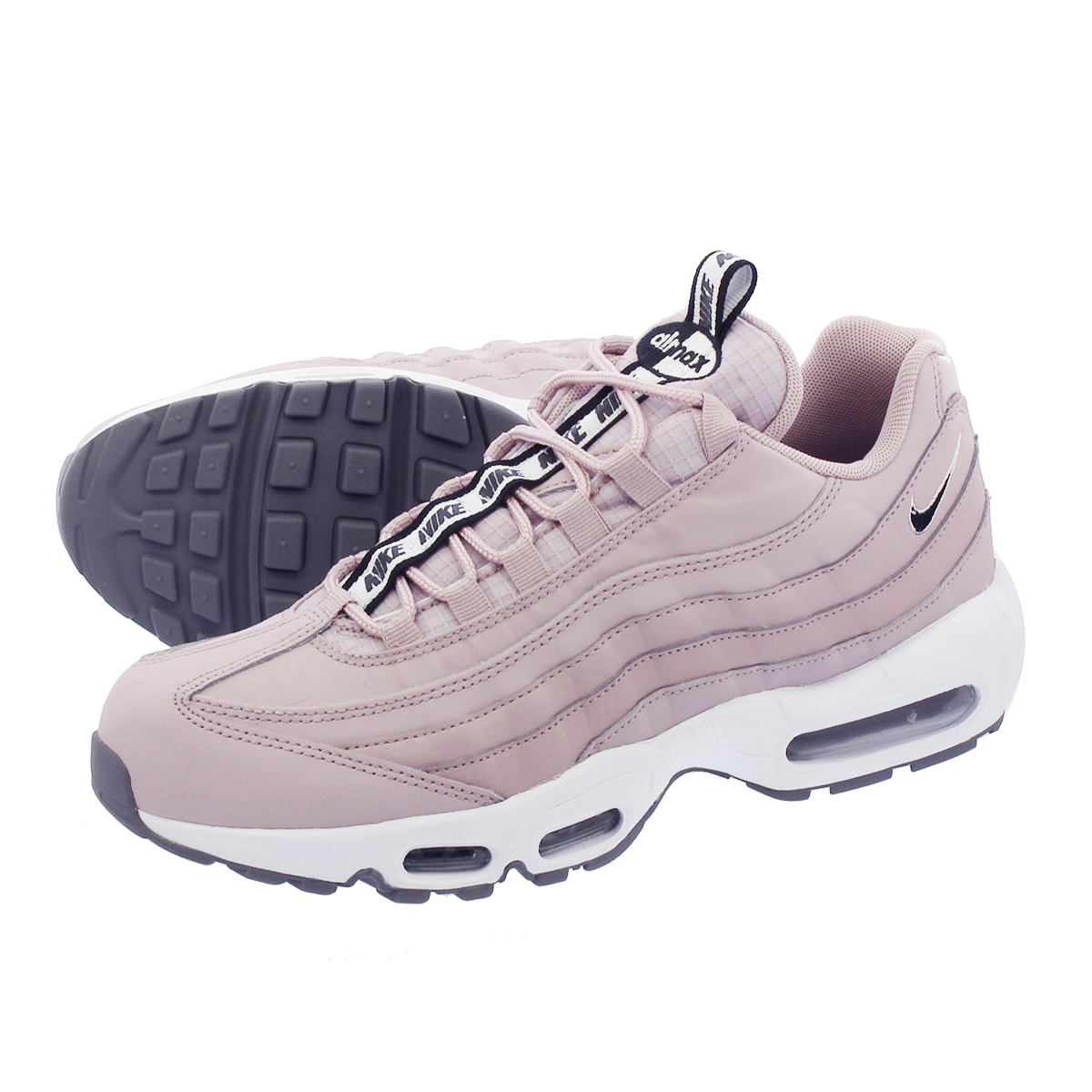 027c8e303e6 LOWTEX PLUS  NIKE AIR MAX 95 SE Kie Ney AMAX 95 SE PARTICLE ROSE WHITE COOL  GREY BLACK