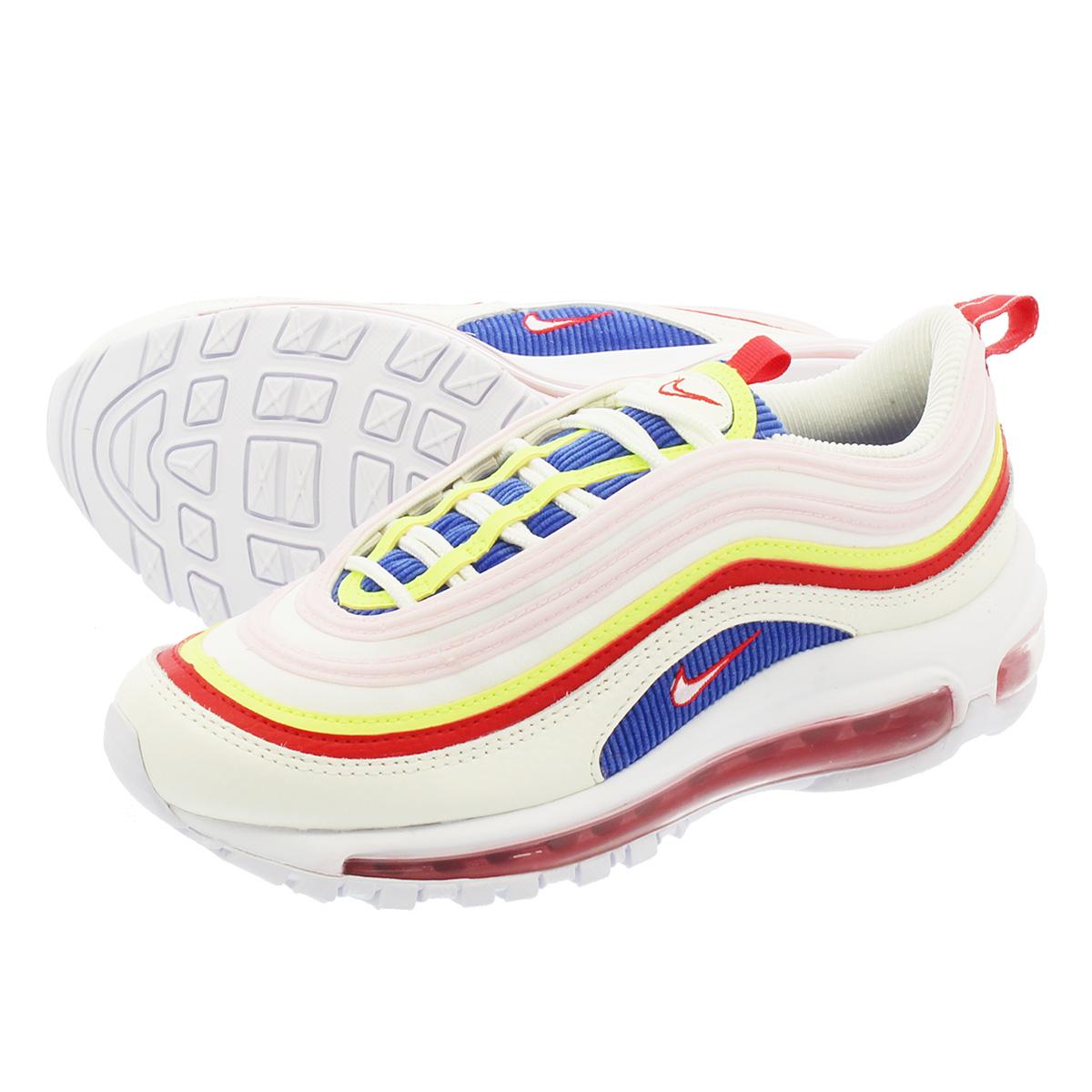 NIKE WMNS AIR MAX 97 SE Nike women Air Max 97 SE SAILARCTIC PINKVOLT GLOW aq4137 101