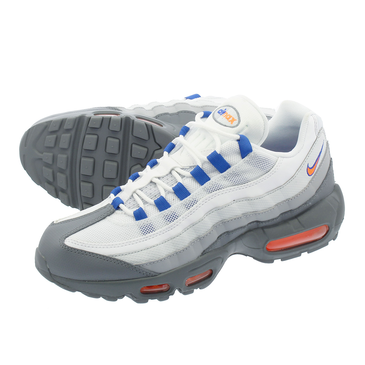 NIKE AIR MAX 95 ESSENTIAL ナイキ エア マックス 95 エッセンシャル COOL GREY/TOTAL ORANGE/WHITE 749766-033