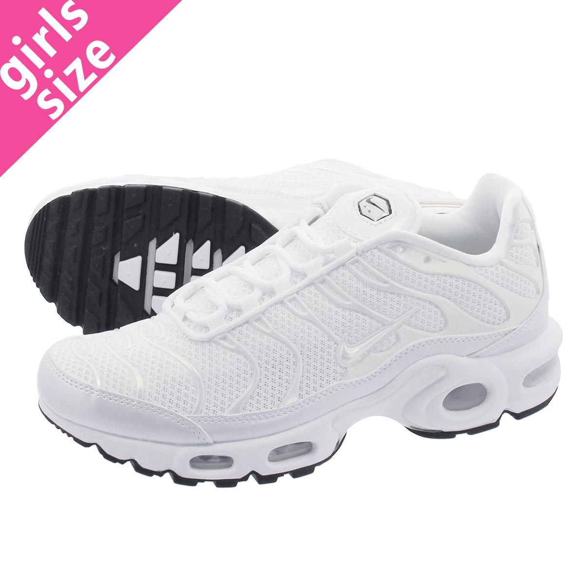 NIKE WMNS AIR MAX PLUS PREMIUM Nike women Air Max plus premium WHITEWHITEWHITEBLACK 848,891 100