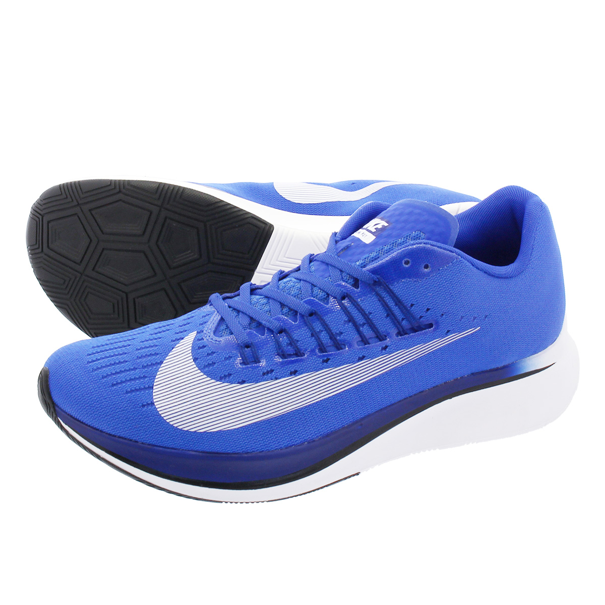 NIKE ZOOM FLY ナイキ ズーム フライ HYPER ROYAL/WHITE 880848-411