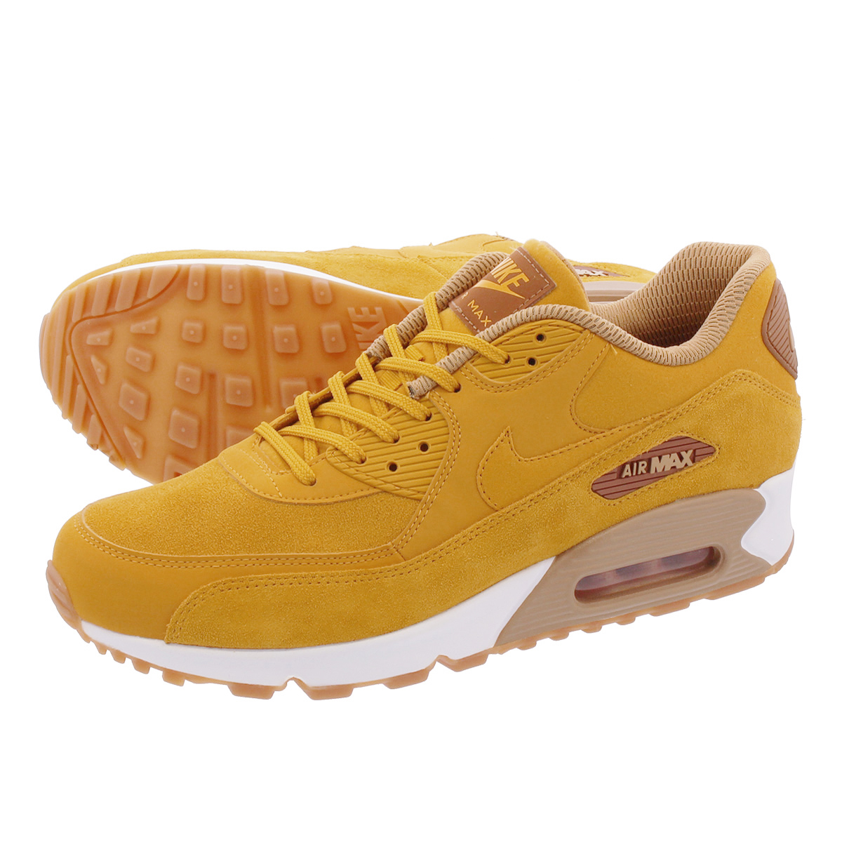 Details about Nike Air Max 90 SE Mineral Yellow Womens Size 6 881105 700