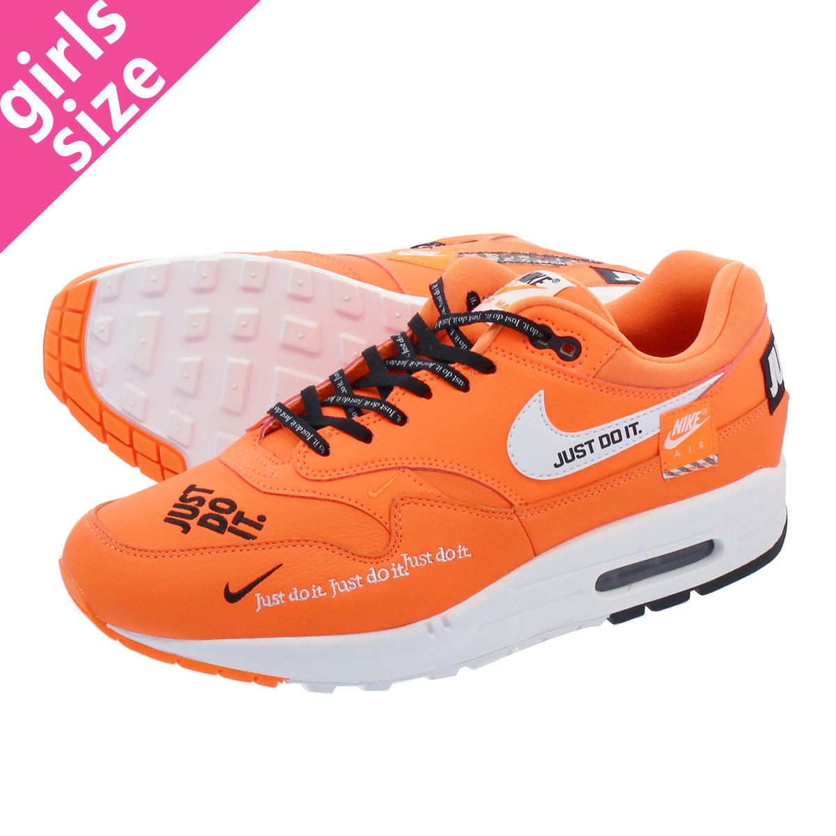 free shipping dee07 2c04c NIKE WMNS AIR MAX 1 LX Nike women Air Max 1 TOTAL ORANGE WHITE BLACK  917,691-800