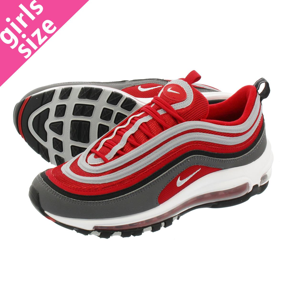 Air Max 97 Dark Grey Gym Red White Nike