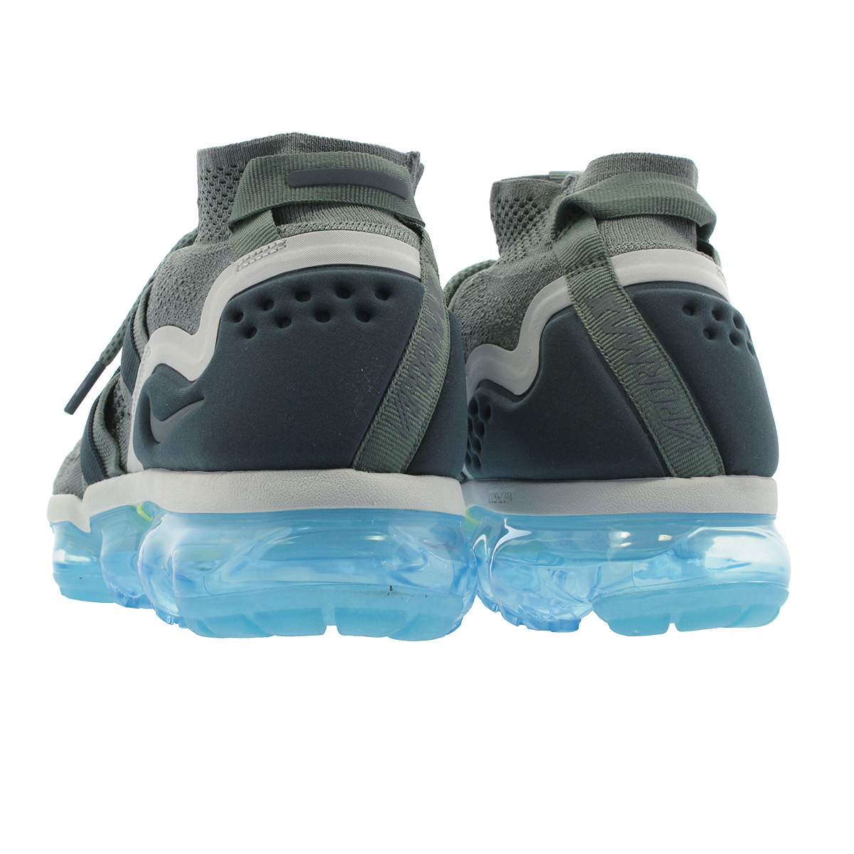 9e4836a793a09 NIKE AIR VAPORMAX FLYKNIT UTILITY Nike vapor max fried food knit utility  GREEN FADED SPRUCE BARELY ah6834-300