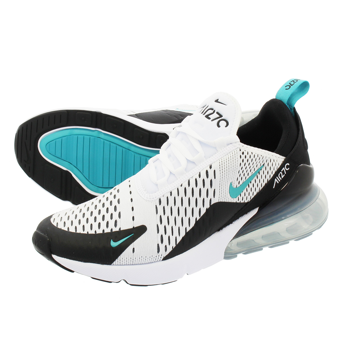 separation shoes e4b0f a63f7 NIKE AIR MAX 270 Kie Ney AMAX 270 WHITE/DUSTY CACTUS/BLACK ah8050-001