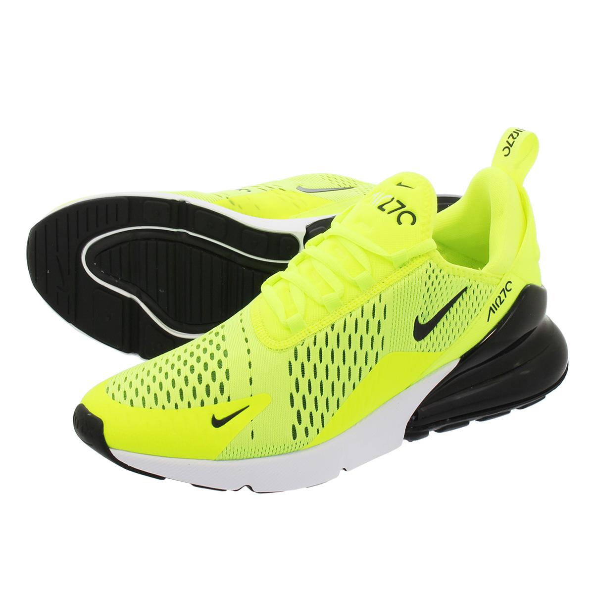 150740e8bed2a Men's Shoes Nike Air Max 270 Volt Black Dark Grey White Neon Yellow  AH8050-701 Sz ...