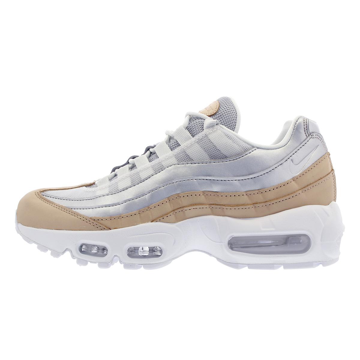 Nike Air Max 95 Se Prm AH8697 002 Pure PlatinumMetallic