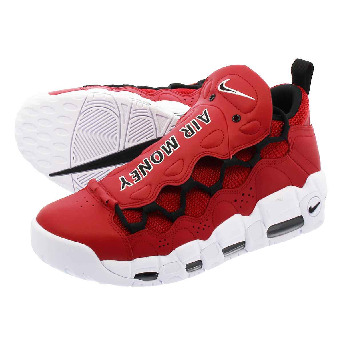 NIKE AIR MORE MONEY ナイキ エア モア マネー GYM RED/BLACK/WHITE