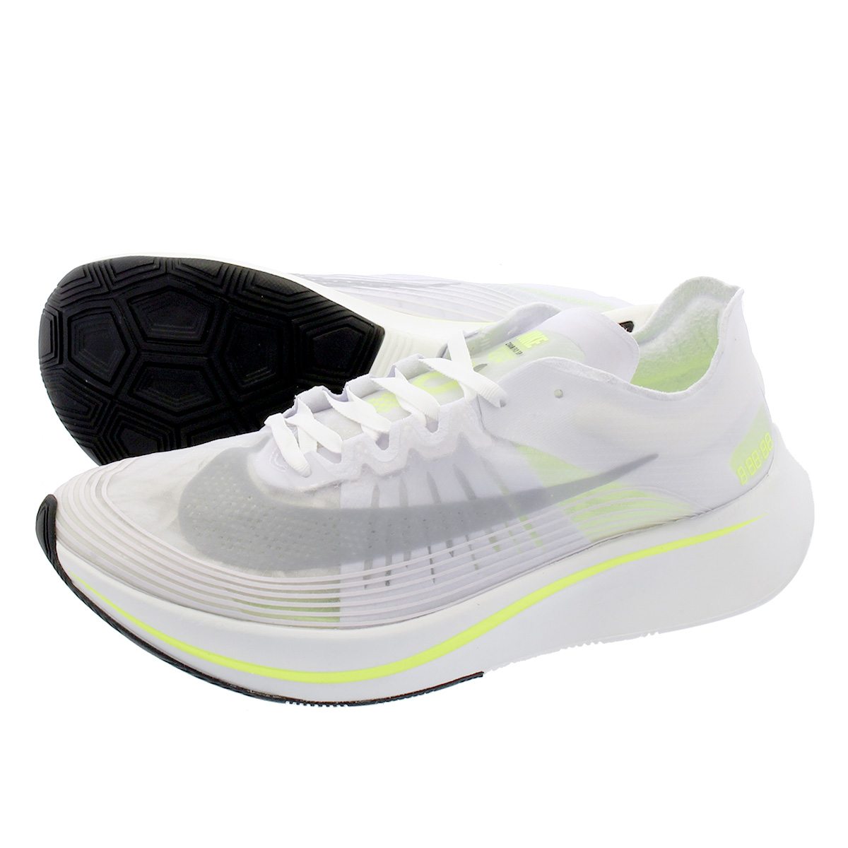 new concept 6ab9e dfc19 NIKE ZOOM FLY SP Nike zoom fly SP WHITEVOLT GLOWSUMMIT WHITE aj9282-107