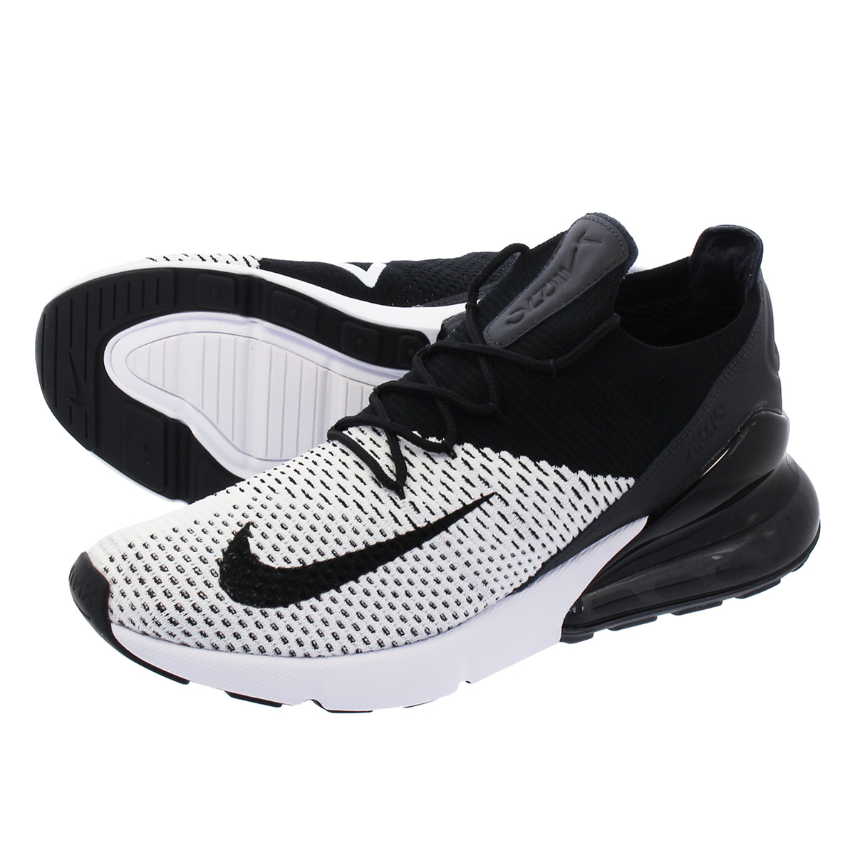 Nike Air Max 270 Flyknit Black Anthracite Black | Footshop