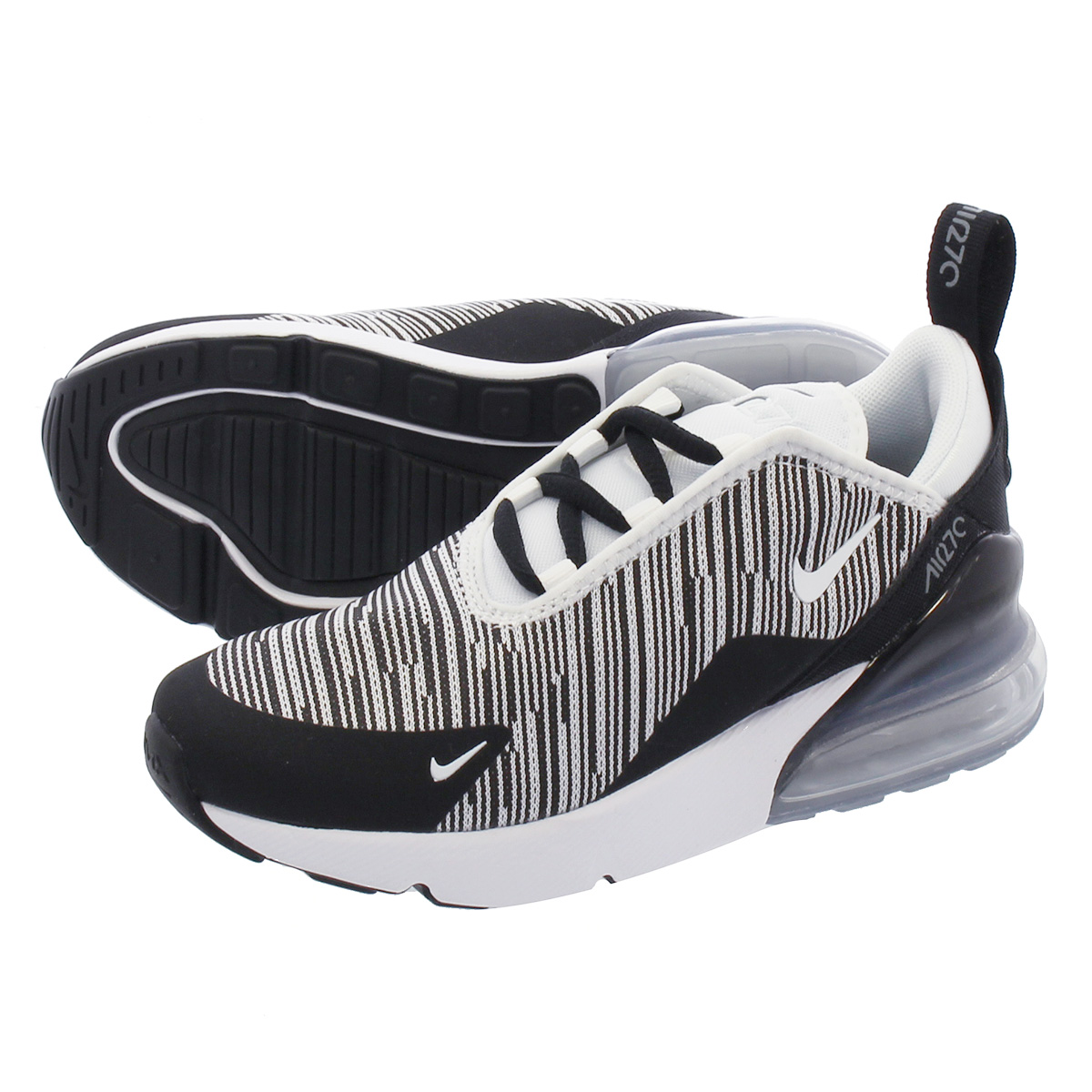 limited guantity buy good wholesale dealer NIKE AIR MAX 270 PS Kie Ney AMAX 270 PS BLACK/GREY/SILVER/WHITE ao2372-007