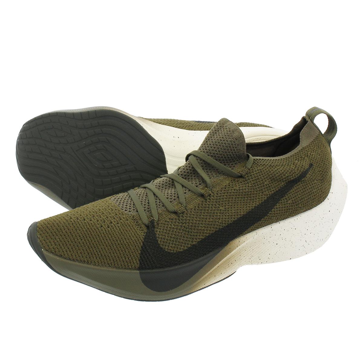 5ce83adaf2 NIKE VAPOR STREET FLYKNIT Nike vapor street fried food knit MEDIUM OLIVE/SEQUOIA/SAIL  ...