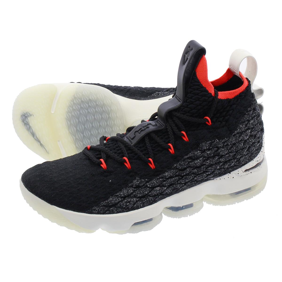 timeless design 85574 a9704 NIKE LEBRON 15 Nike Revlon 15 BLACK/SAIL/BRIGHT CRIMSON aq2363-002