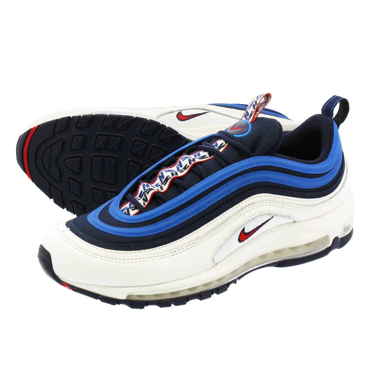b631bb03b1 LOWTEX PLUS: NIKE AIR MAX 97 SE Kie Ney AMAX 97 SE OBSIDIAN/UNIVERSITY RED/ SAIL/BLUE NEBULA aq4126-400 | Rakuten Global Market