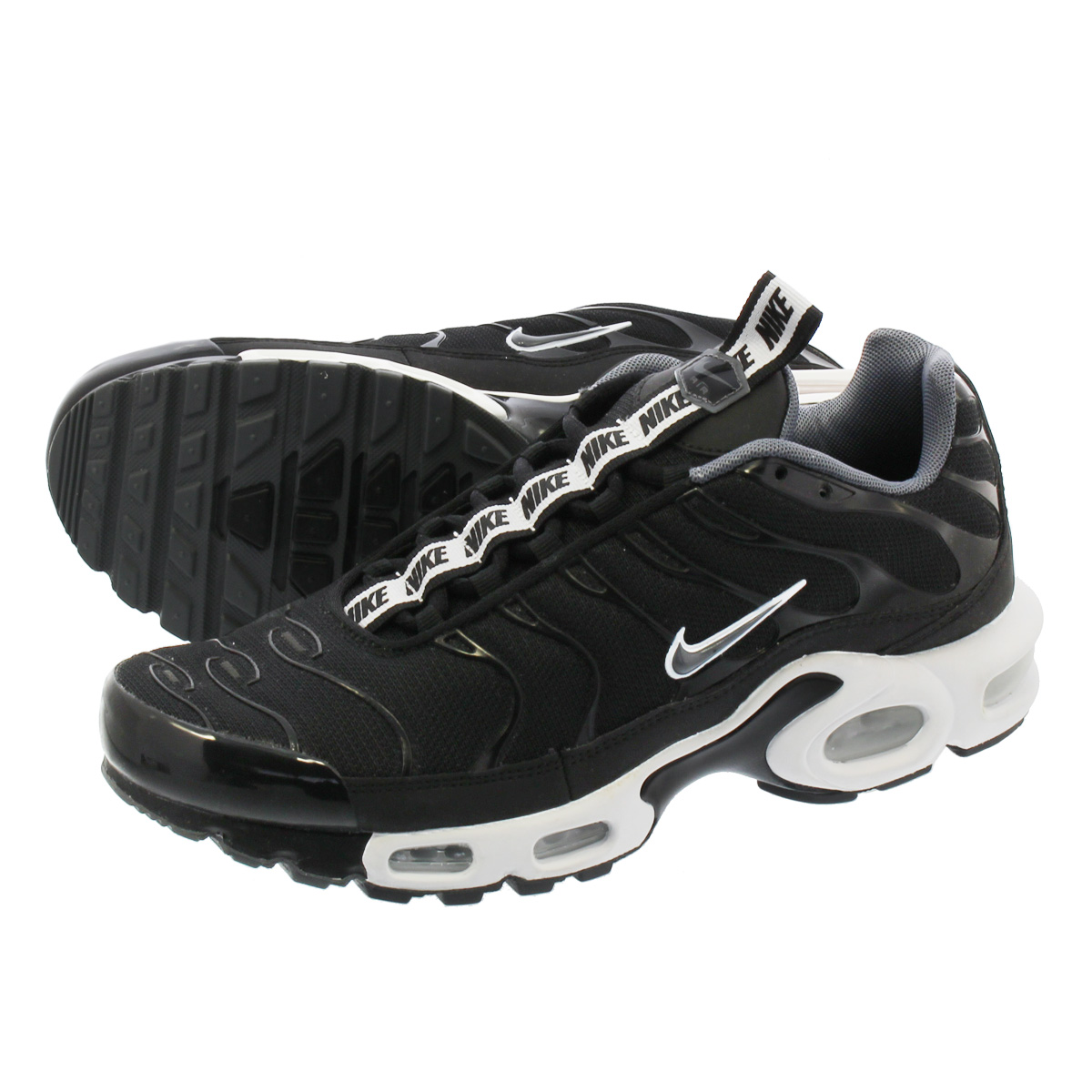9bf4819167 NIKE AIR MAX PLUS TN SE Kie Ney AMAX plus TN SE BLACK/WHITE aq4128 ...