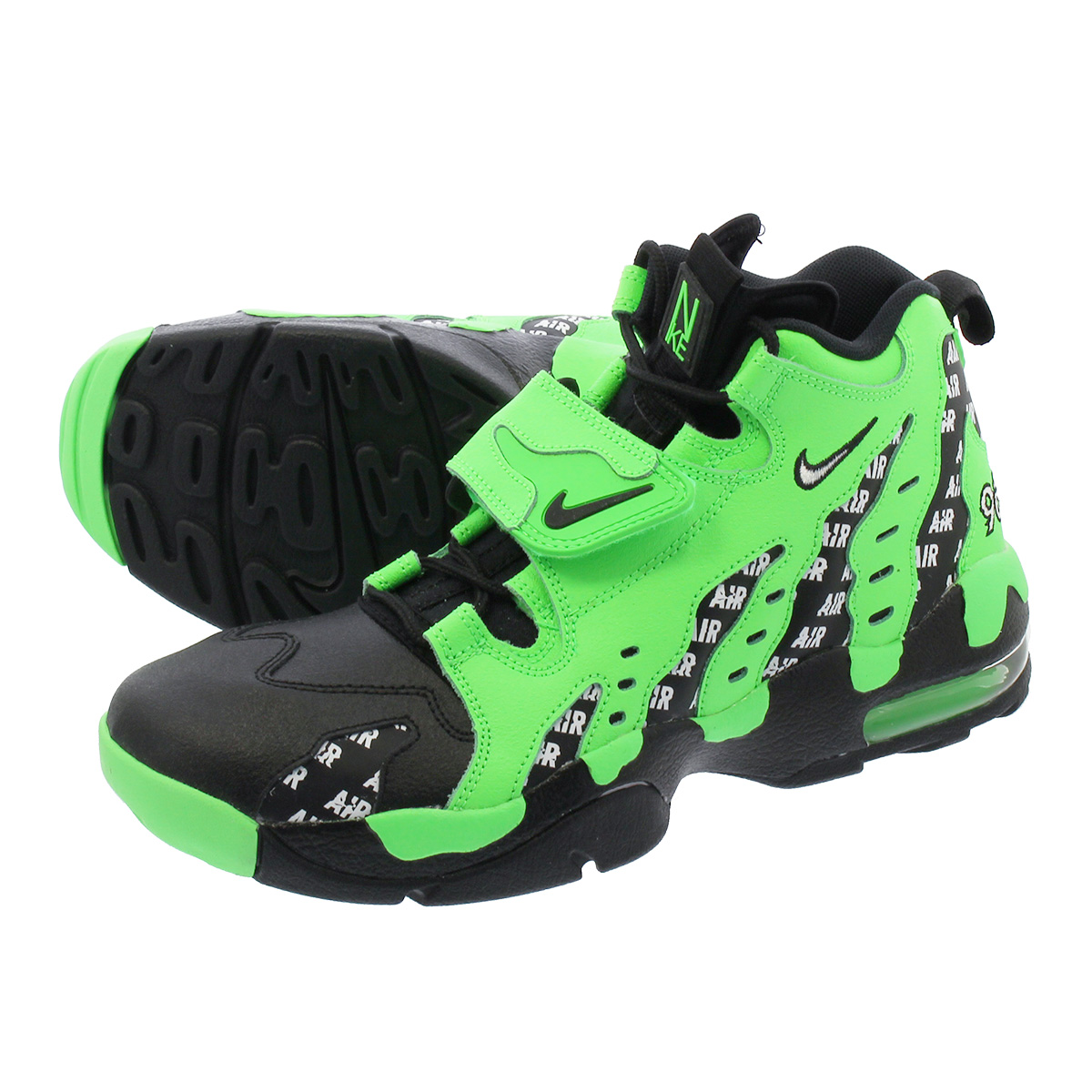 16cece0a2457 NIKE AIR DT MAX 96 SOA Nike air DT max 96 RAGE GREEN BLACK WHITE aq5100-300
