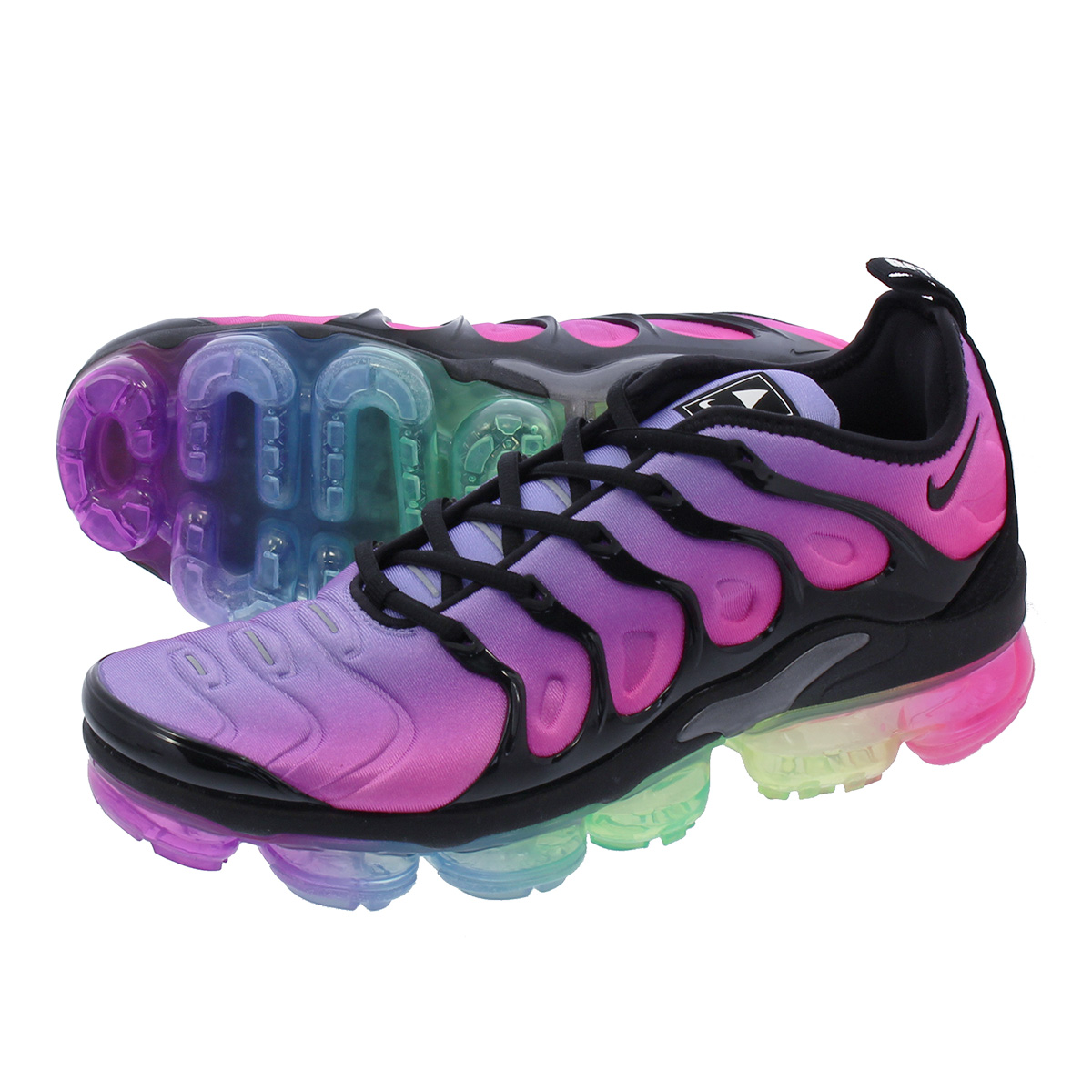 1002433dfa988 NIKE AIR VAPORMAX PLUS Nike vapor max plus PURPLE PULSE PINK BLAST MULTI  COLOR BLACK ar4791-500