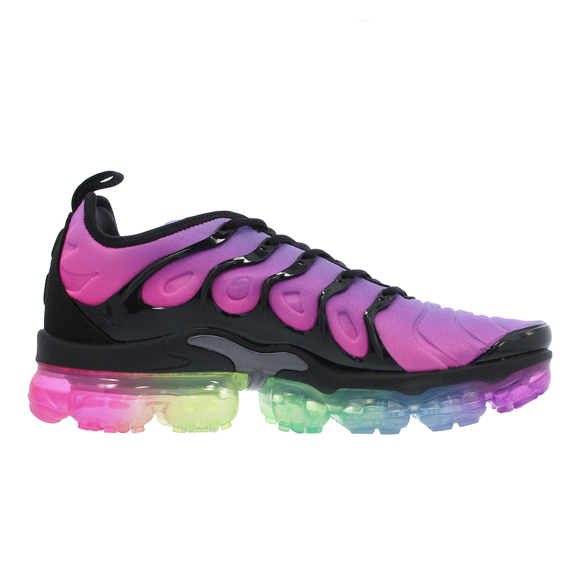 1518a0a3b1b67 NIKE AIR VAPORMAX PLUS Nike vapor max plus PURPLE PULSE PINK BLAST MULTI  COLOR BLACK ar4791-500
