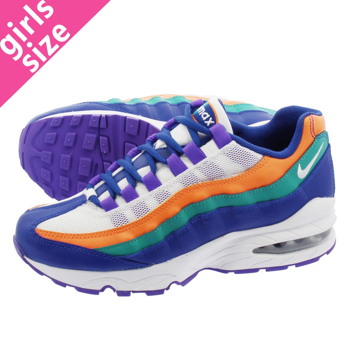 c384382f38c ... wholesale nike air max 95 gs kie ney amax 95 gs white blue purple green  orange