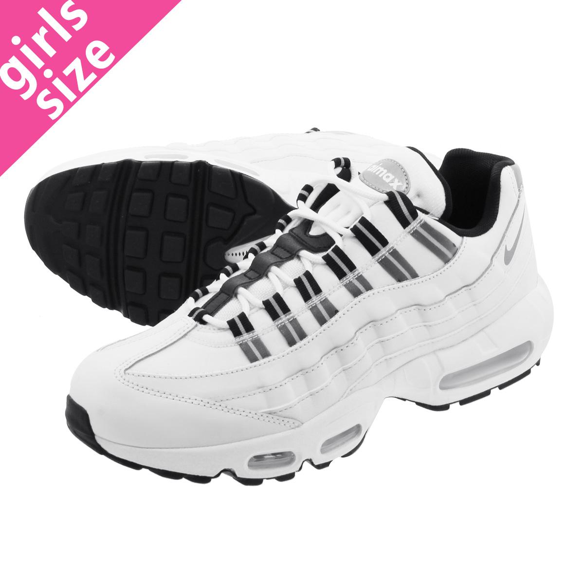 619a01557b NIKE WMNS AIR MAX 95 Nike women Air Max 95 SUMMIT WHITE/REFLECT SILVER/ ...