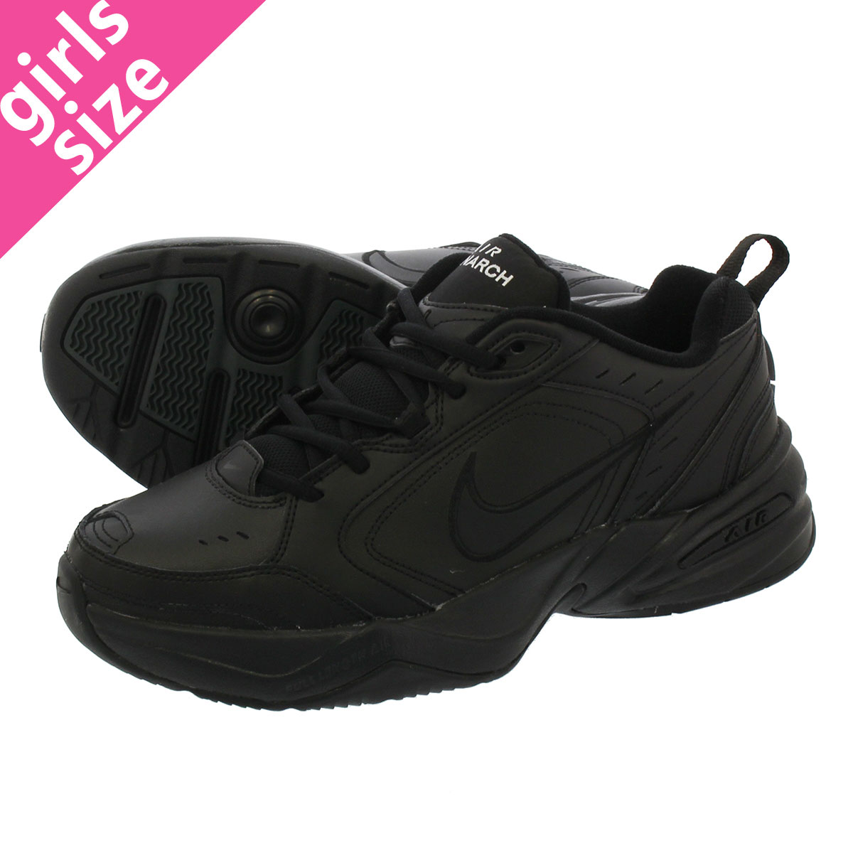 NIKE AIR MONARCH IV ナイキエアモナーク 4 BLACKBLACK 415,445 001