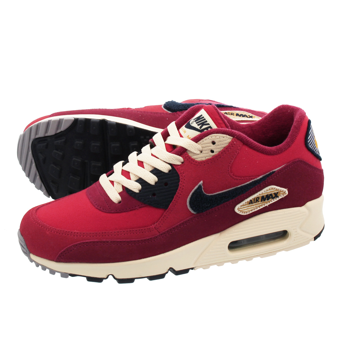 00af3c17f ... shopping nike air max 90 premium kie ney amax 90 premium university red  provence purple 858954