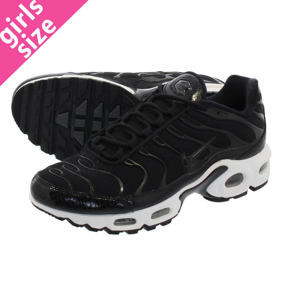 NIKE WMNS AIR MAX PLUS SE Nike women Air Max plus SE BLACKBLACKDARK GREY 862,201 004