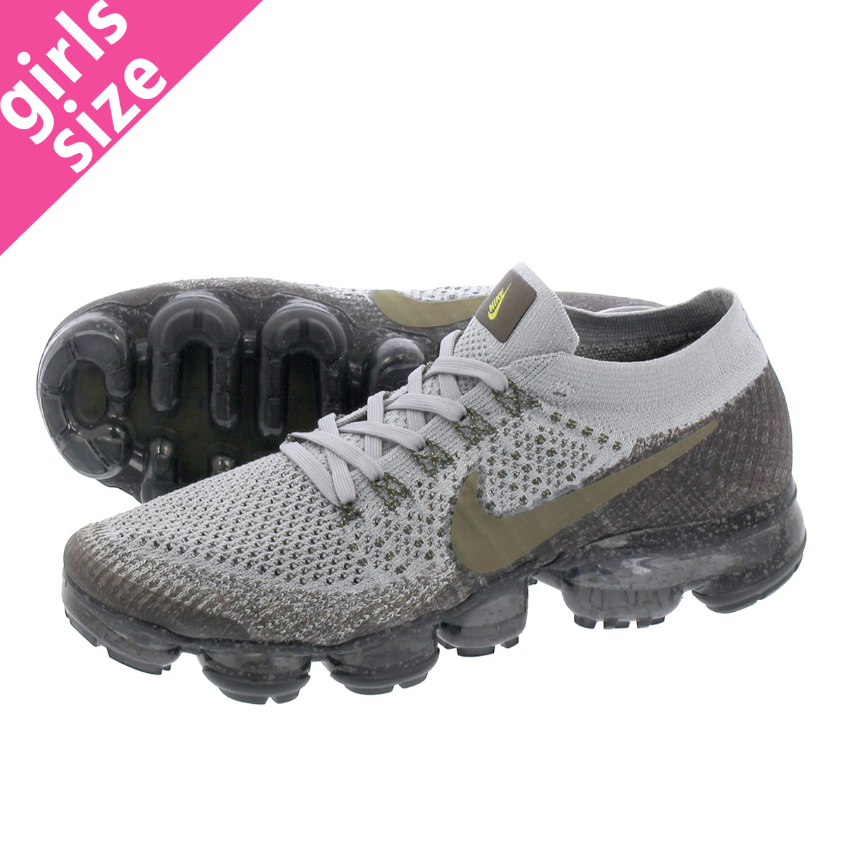 low priced 06cf1 14d21 NIKE WMNS AIR VAPORMAX FLYKNIT Nike laboratory women vapor max fried food  knit MIDNIGHT FOG/MEDIUM OLIVE/GREY 899,472-009