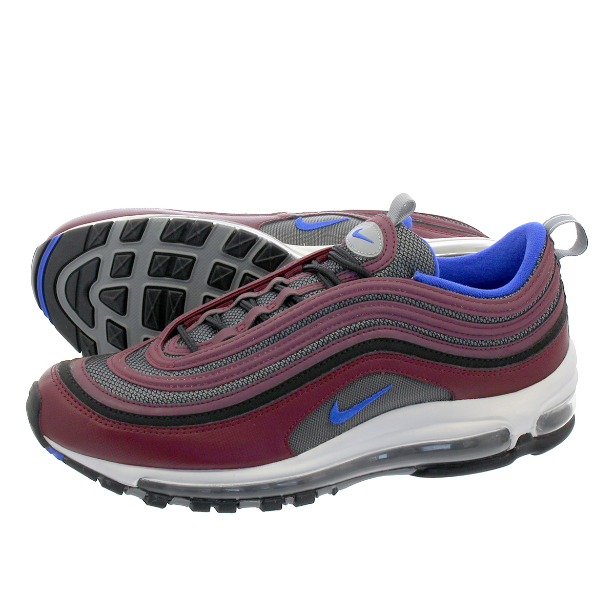 NIKE AIR MAX 97 ナイキ エア マックス 97 COOL GREY/NIGHT MAROON/RACER BLUE/PURE PLAINUM 921826-012