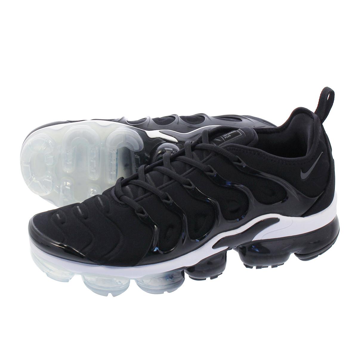 NIKE AIR VAPORMAX PLUS ナイキ ヴェイパー マックス プラス BLACK/ANTHRACITE/WHITE 924453-010