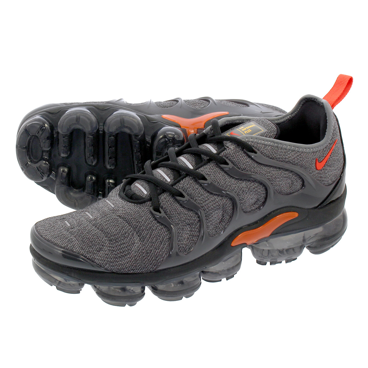 online store 8ffc9 c8ac8 NIKE AIR VAPORMAX PLUS Nike vapor max plus GREY/TEAM ORANGE 924,453-012