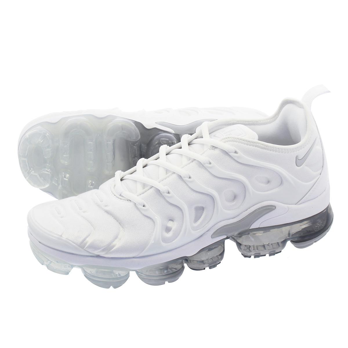 00fbe748975 NIKE AIR VAPORMAX PLUS Nike vapor max plus WHITE PURE PLATINUM WOLF GREY  924