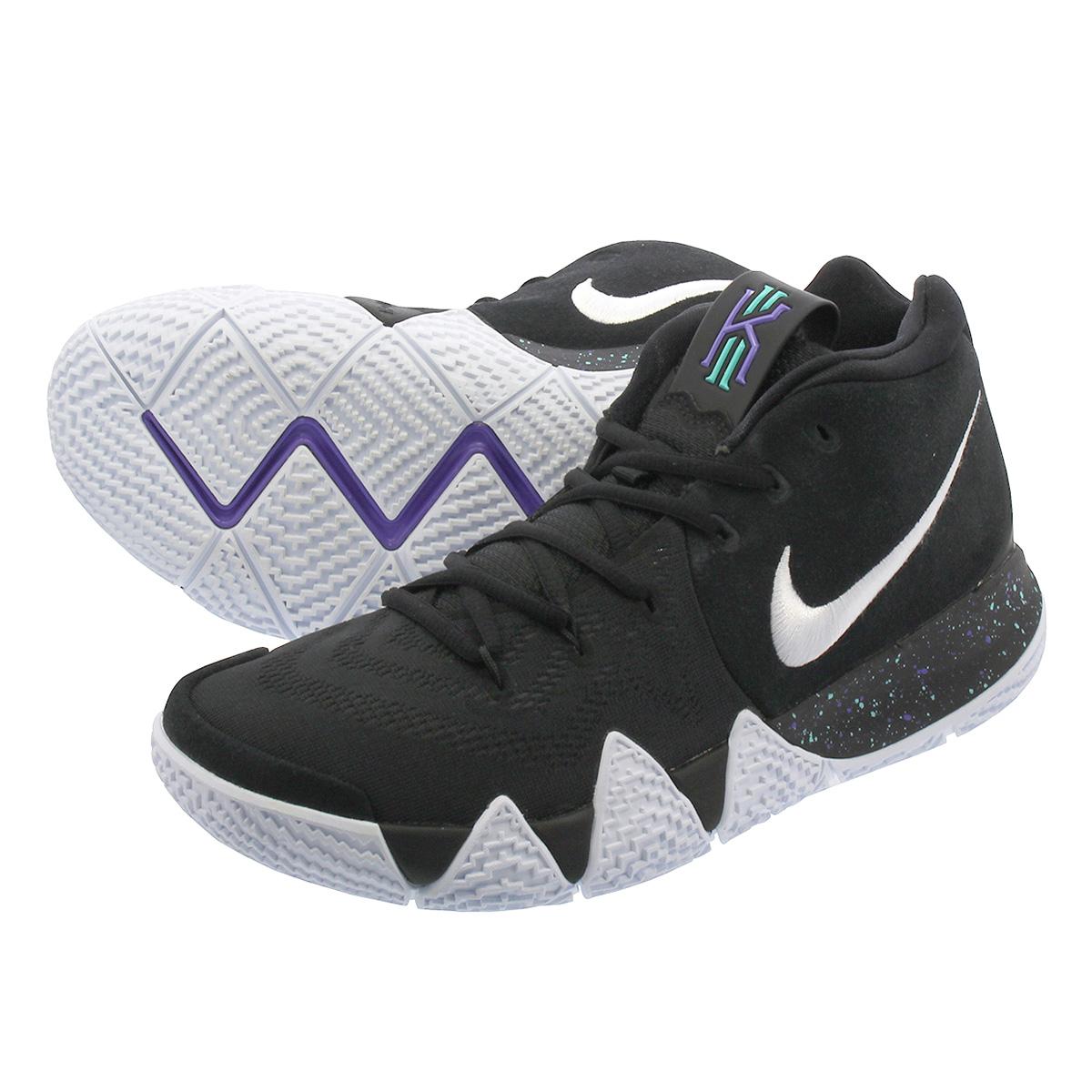 91714144436 LOWTEX PLUS  NIKE KYRIE 4 Nike chi Lee 4 BLACK WHITE 943