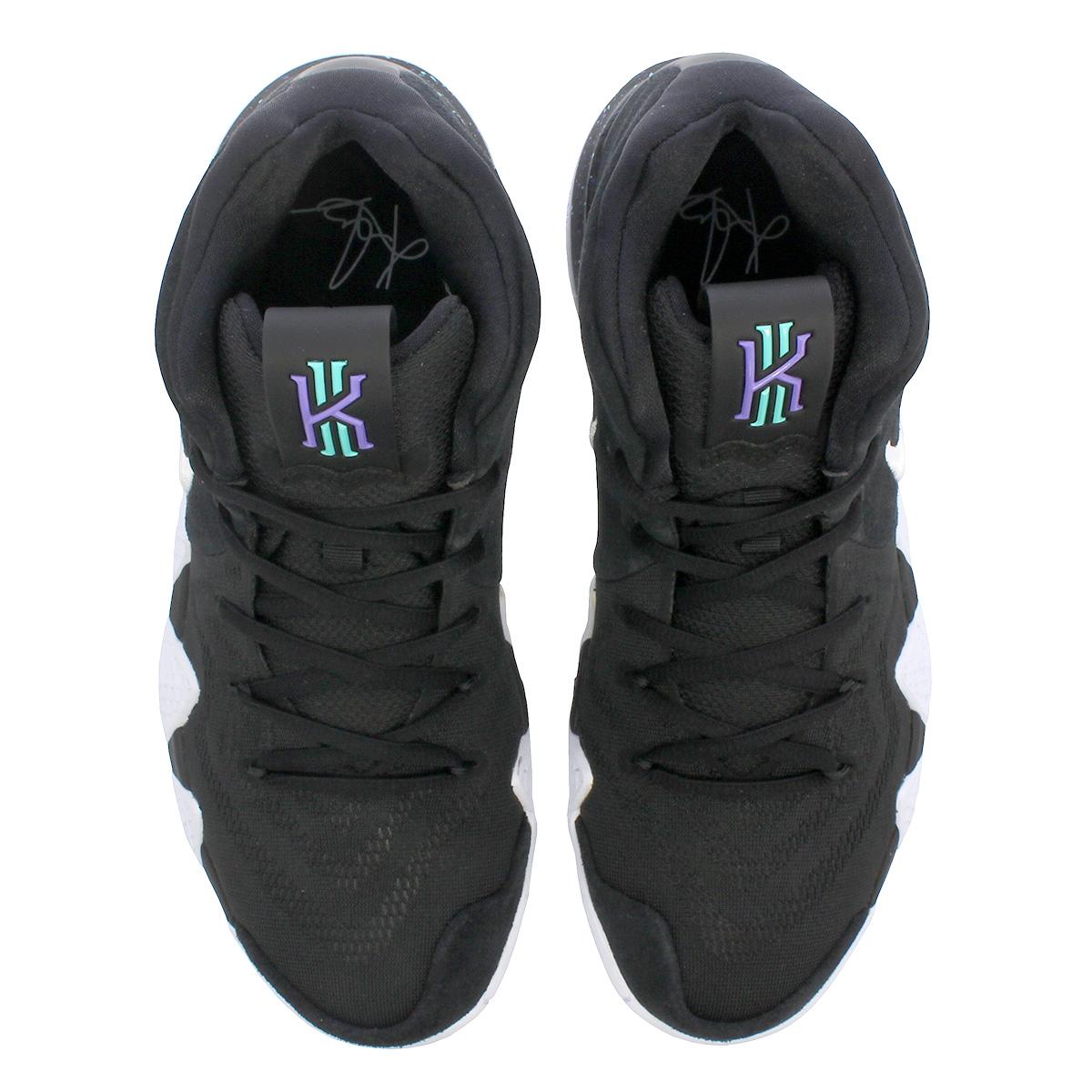 28fc27fe8d9978 LOWTEX PLUS  NIKE KYRIE 4 Nike chi Lee 4 BLACK WHITE 943