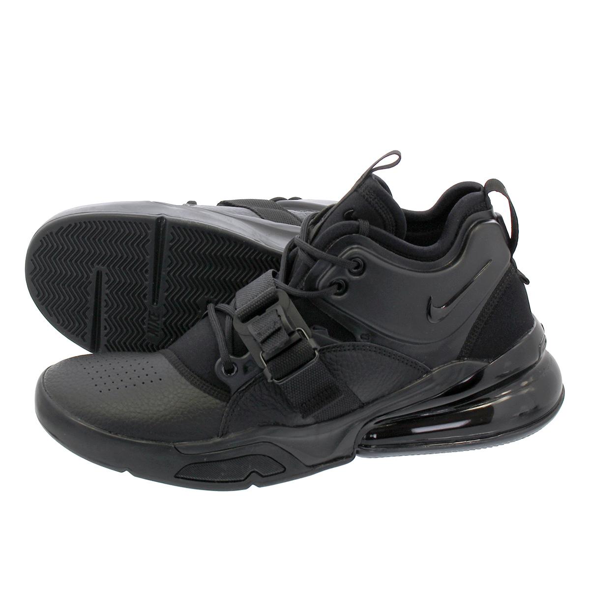 NIKE AIR FORCE 270 Nike air force 270 BLACKBLACKBLACK ah6772 010