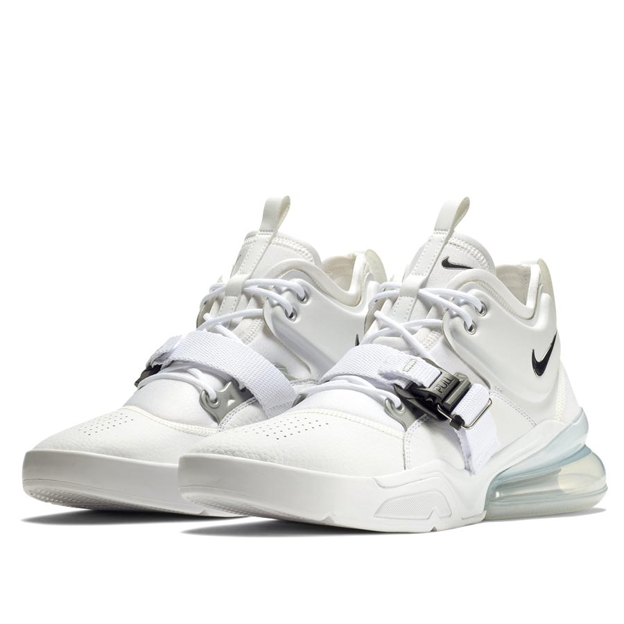 e622a632779 NIKE AIR FORCE 270 Nike air force 270 WHITE METALLIC SILVER ah6772-100