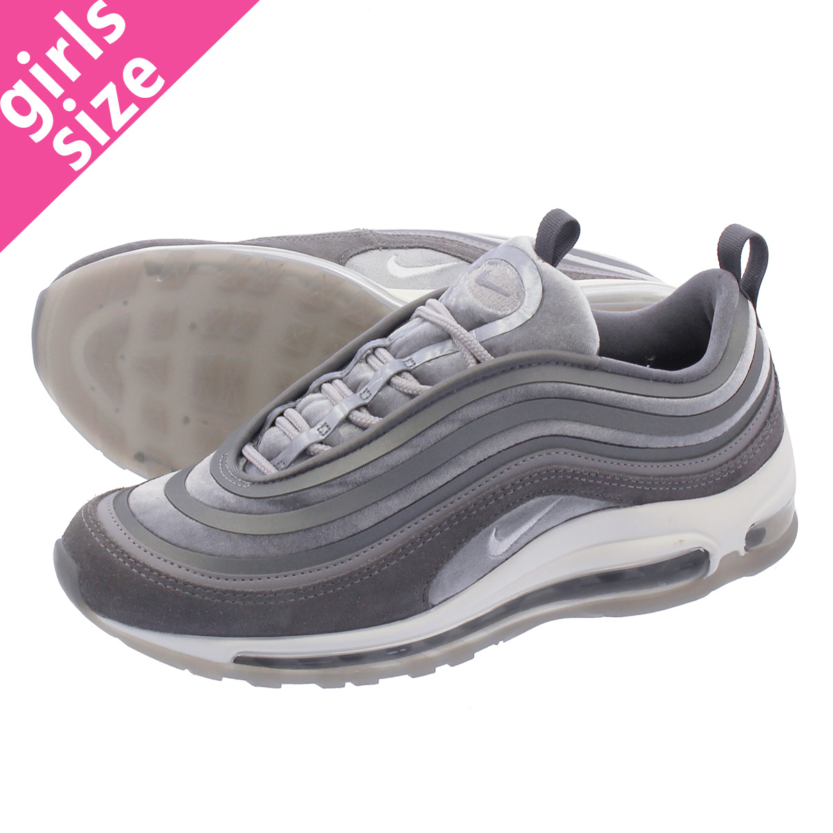 billig Nike Gray Air Max 97 Ultra '17 Lx Women's Shoe spare