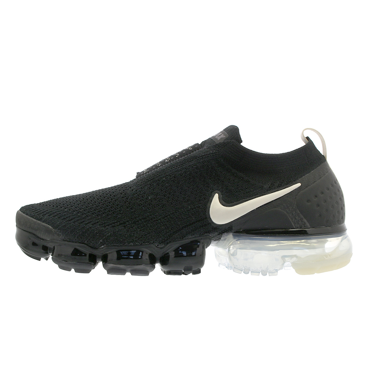 88362fd5277f NIKE AIR VAPORMAX MOC 2 Nike air vapor max fried food knit mock 2 BLACK LIGHT  CREAM WHITE THUNDER GREY ah7006-002
