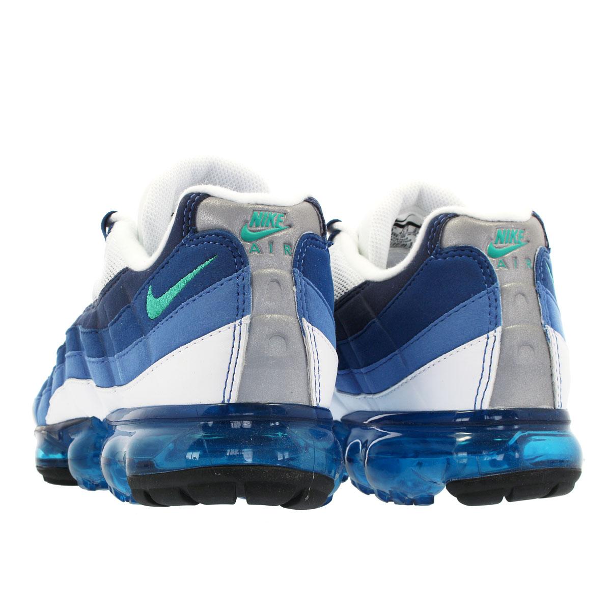 2fa28434f0 ... NIKE AIR VAPORMAX 95 Nike air vapor max 95 WHITE/NEW GREEN/FRENCH BLUE  ...