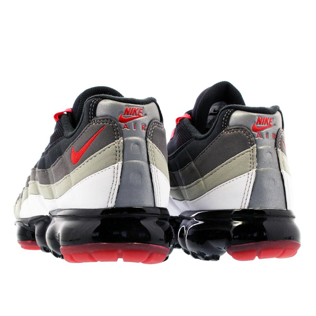 NIKE AIR VAPORMAX 95 Nike air vapor max 95 WHITEHOT REDDARK PEWTERGRANITE aj7292 101
