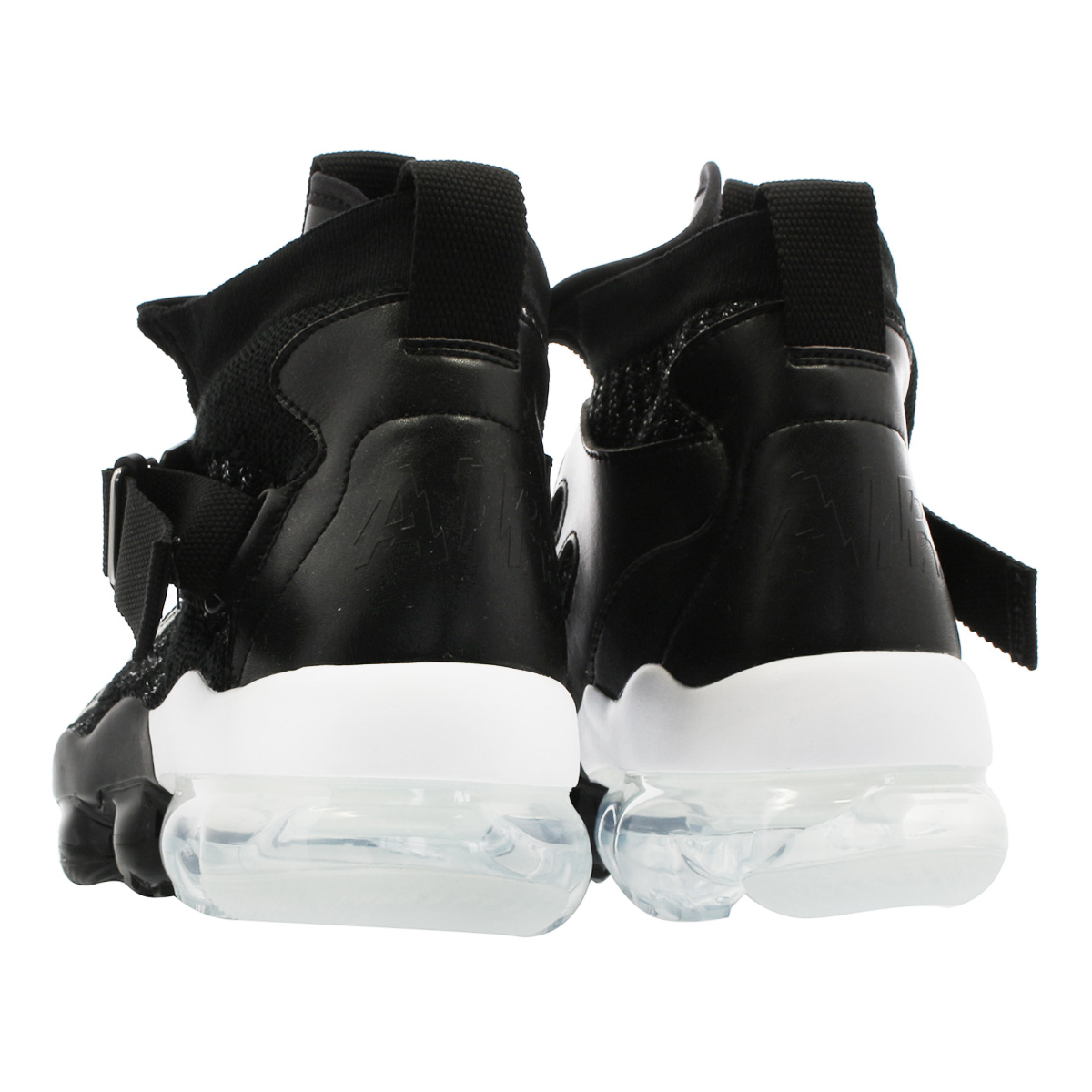 64658a5b47ba8 NIKE VAPORMAX PREMIER FLYKNIT Nike vapor max premiere fly knit BLACK METALLIC  SILVER WHITE ao3241-002